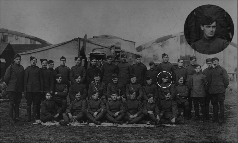 56 Squadron Air Mechanic, WW1